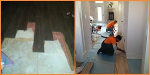Floor Board repair