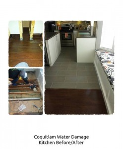 911 Restoration Orange County Water Dmaage Before and After