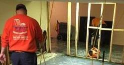 Reconstructing Wall After Mold Infestation