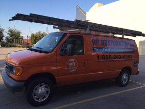Water Damage and Mold Removal Van