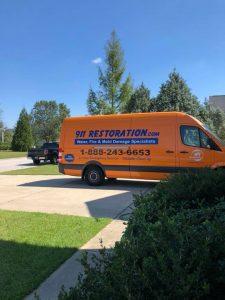 Green-van-disaster-restoration