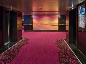 Carpet in interior decor
